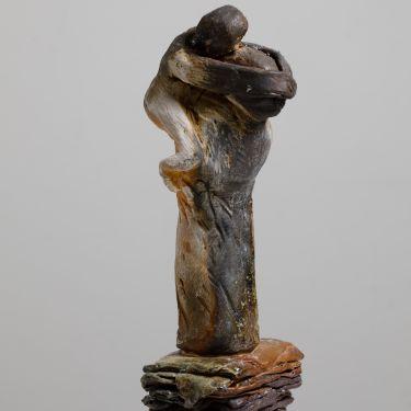 Wood fired stoneware